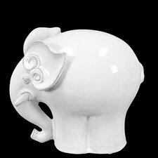 Amazing Ceramic Elephant Figurine