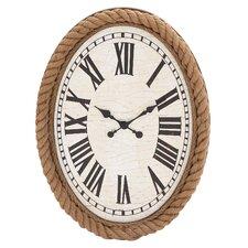 Fascinating Wood Rowall Clock