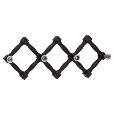 Cool and Distinctive Wood Glass Wall Hook
