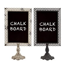 Metal Blackboard (Set of 2)