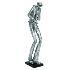 Décor Playing the Trumpet Theme Figurine