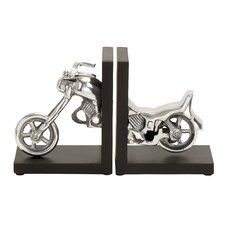 Motorcycle Book End (Set of 2)
