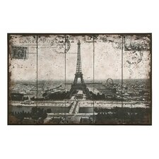 <strong>Woodland Imports</strong> Paris Eiffel Tower Wall Art