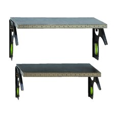 Do It Yourself Tape Measure Shelf (Set of 2)