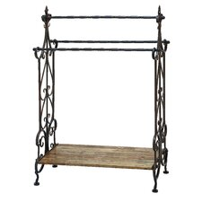 Traditional Free Standing Towel Rack