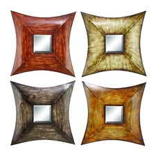Metal Mirror (Set of 4)