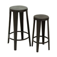 <strong>Woodland Imports</strong> 2 Piece Bar Stool Set