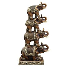 Elephant Stack Figurine