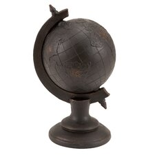 Library Globe Decor Figurine