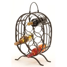 <strong>Woodland Imports</strong> 10 Bottle Tabletop Wine Rack