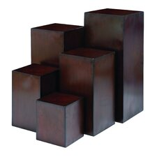 <strong>Woodland Imports</strong> Modish Plant Stand (Set of 5)