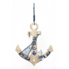 Seaside Nautical Weighing Anchor Wall Décor
