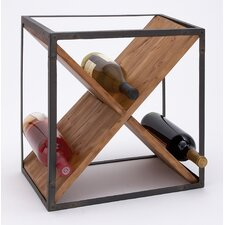 <strong>Woodland Imports</strong> Bottle Wine Rack