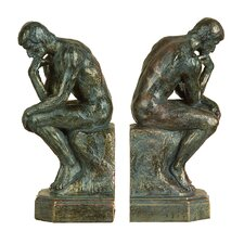 Thinker Book End (Set of 2)