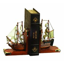 Nautical Coastal Bookends (Set of 2)