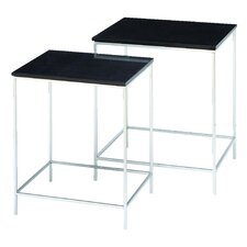 2 Piece Contempo End Table