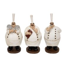 Polystone Chef (Set of 3)