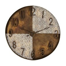 Light and Dark Quarters Wall Clock