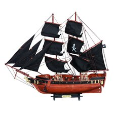 Wooden Model Pirate Ship