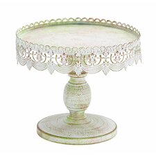 <strong>Woodland Imports</strong> Decorative Cake Stand