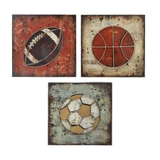 3 Piece Wall Plaque