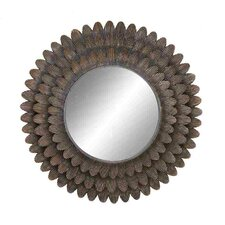 Wall Accent Metal Mirror