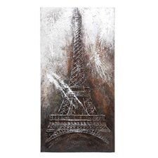 <strong>Woodland Imports</strong> Eiffel Tower Canvas Art