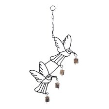Metal Bird Wind Chime