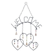 <strong>Woodland Imports</strong> Welcome Wind Chime