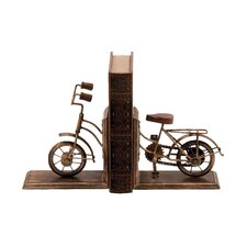 <strong>Woodland Imports</strong> Metal Book Ends (Set of 2)