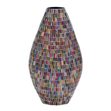 Metal Glass Vase