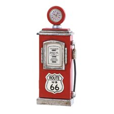 <strong>Woodland Imports</strong> Route 66 Gas Pump Key Holder