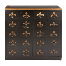 <strong>Woodland Imports</strong> 20 Drawer Dresser