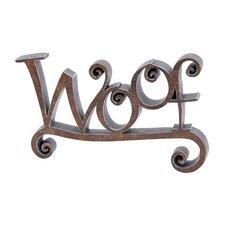 Woof Decor Sculpture