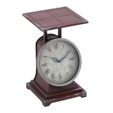 Metal Scale Decor Clock