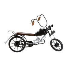 Expertly Crafted Miniature Model Motorcycle