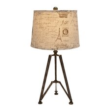 "Exclusive 27"" H Table Lamp with Empire Shade"