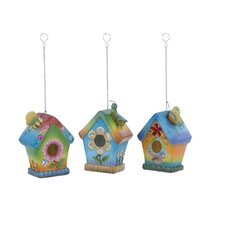 Hanging Birdhouse (Set of 3)