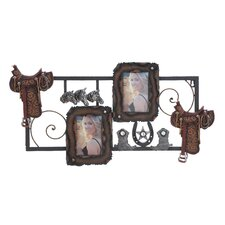 <strong>Woodland Imports</strong> Metal PS Wall Picture Frame