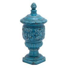 Ceramic Buddha Decorative Urn