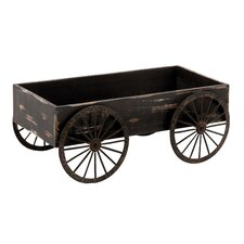 Wood Decor Cart