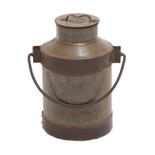 Metal Milk Can with Handle