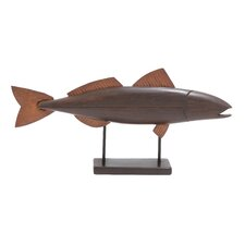 Handcrafted Fish Statue