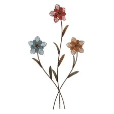 Decorative 3 Metal Wall Flower