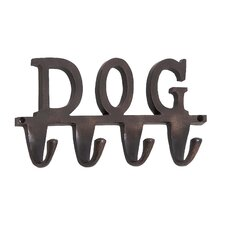"Aluminum ""Dog"" Wall Hook"