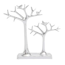 Showpiece Double Tree Ring Holder