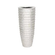 Curved Design Capiz Vase