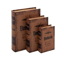 3 Piece Beethoven Themed Book Box Set