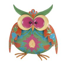 Treetop Mottled Owls Figurine