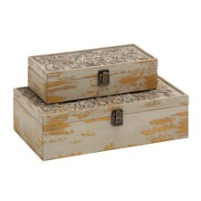 2 Piece Storage Box Set